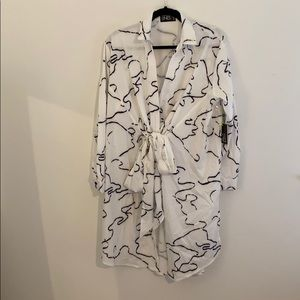 Abstract Tunic Blouse